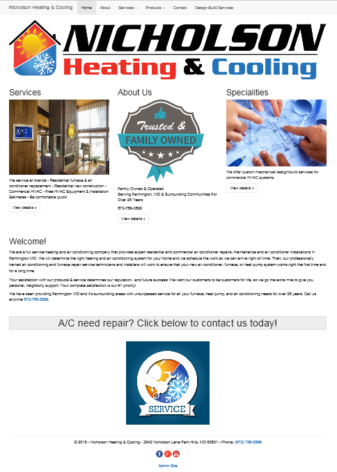 Nicholson Heating & Cooling